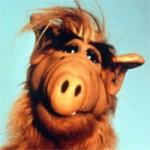 Alf kleurplaat