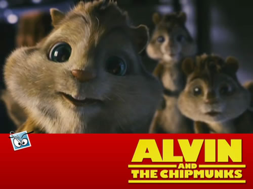 Wallpaper van Alvin en de Chipmunks