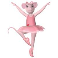 Angelina Ballerina kleurplaten