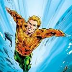 Aquaman kleurplaat