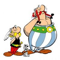 Asterix en Obelix kleurplaten