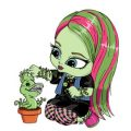 Baby Monster High kleurplaten