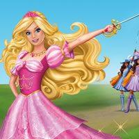Barbie en de drie musketiers kleurplaten