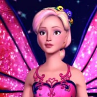 Barbie Mariposa kleurplaten