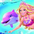 Barbie in een zeemeermin avontuur kleurplaten