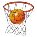 Sport: basketbal kleurplaten