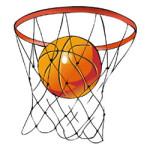 Sport: basketbal kleurplaat