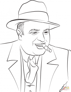 Al Capone   maffia gangster