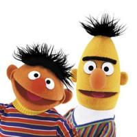 Bert en Ernie kleurplaten