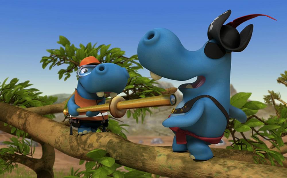Boomerang: Hippos Family