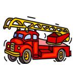 Brandweer kleurplaat