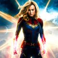 Captain Marvel kleurplaten
