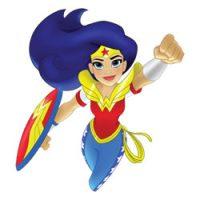 DC Super Hero Girls kleurplaten