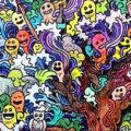 Doodles kleurplaten