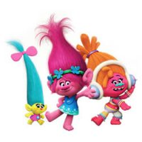 Trolls and Bergens coloring pages