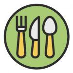 Eten en drinken kleurplaat