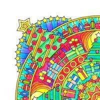 Feestdagen mandala's kleurplaten