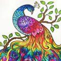 Gedetailleerde dieren kleurplaten