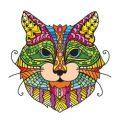Kleurboek katten voor volwassenen kleurplaten