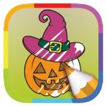 Kleurboek Halloween kleurplaat
