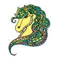 Kleurboek paarden voor volwassenen kleurplaten