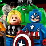 Lego Marvel Avengers kleurplaat