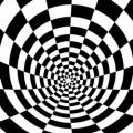 Optische illusies kleurplaten