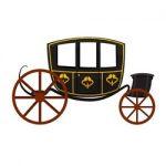 Vervoer met paard en wagen kleurplaat
