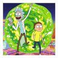 Rick & Morty kleurplaten