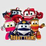 Robot Trains kleurplaat