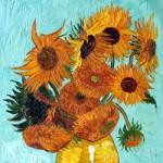 Schilderijen van Vincent van Gogh kleurplaat