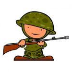 Soldaten kleurplaat