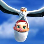 Storks Movie kleurplaat