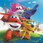 Super Wings kleurplaat