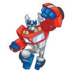 Transformers Rescue Bots kleurplaat