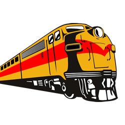 treinen kleurplaten leuk voor