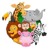 Verzameling kleurplaten van allerlei dieren