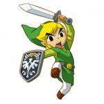 Legende van Zelda kleurplaat