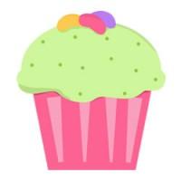 Cupcakes kleurplaten