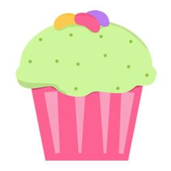 cupcakes kleurplaten leuk voor
