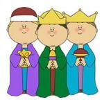 Drie Koningen kleurplaat