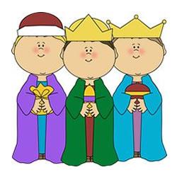 Een Drie Koningen kleurplaat printen → Leuk voor kids