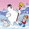 Frosty de sneeuwman kleurplaten