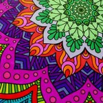 Uitdagende kleurplaat voor volwassenen