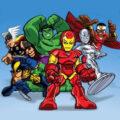 Super Hero Squad kleurplaten
