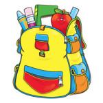 (Terug naar) School kleurplaat