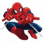 Ultimate Spiderman kleurplaat