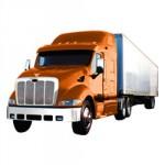 Vrachtauto's kleurplaat