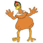 Chicken Run kleurplaat