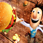 Cloudy with a chance of meatballs kleurplaat
